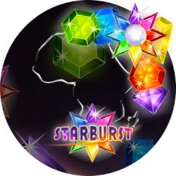 starburst met hoge inzet
